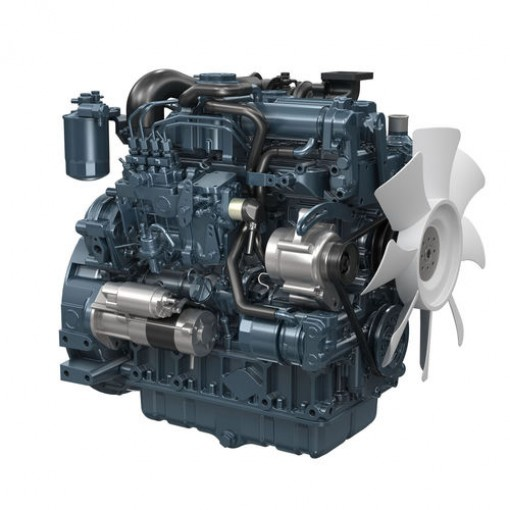 MOTOR DIESEL KUBOTA V2607-DI-T 66 HP 2600CC